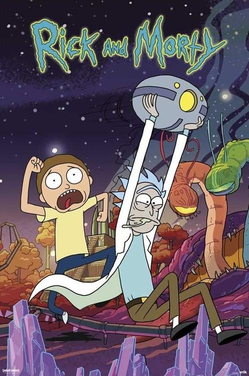 Plakat Rick & Morty - Planet