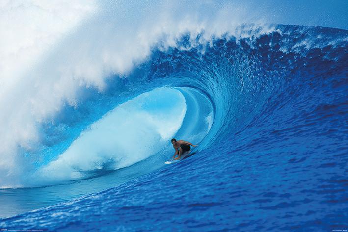 Plakát  Riding The Wave