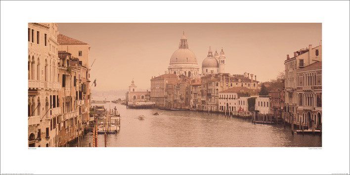 Reprodukcja  Rod Edwards - Canal Grande, Venice