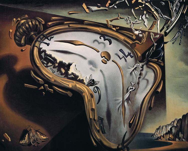 Plakat Obraz Salvador Dalí Les Montres Molles Kup Na Posterspl