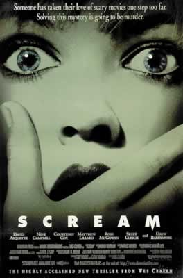 Plakat SCREAM - KRZYK