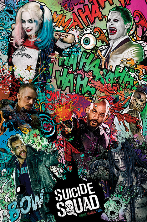 Plakát Sebevražedný oddíl - Crazy