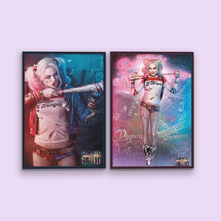 Plakát Sebevražedný oddíl - Harley Quinn Bang