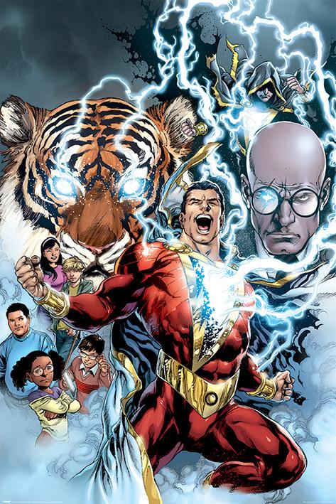 Plakát Shazam - The Power of Shazam