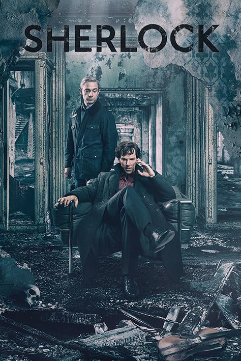 Plakát  Sherlock - Destruction