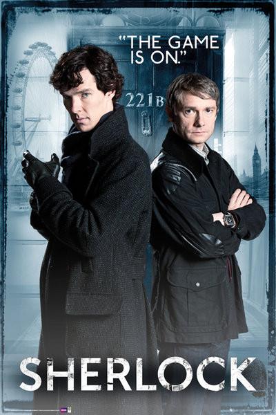 Plakát  SHERLOCK - Door
