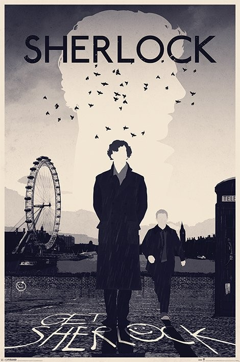 Plakát  Sherlock - London