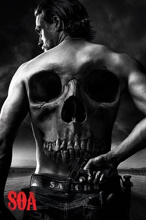 Plakát  Sons of Anarchy (Zákon gangu) - Jax Back