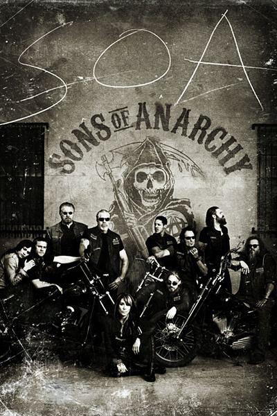 Plakát SONS OF ANARCHY - ZÁKON GANGU - vintage