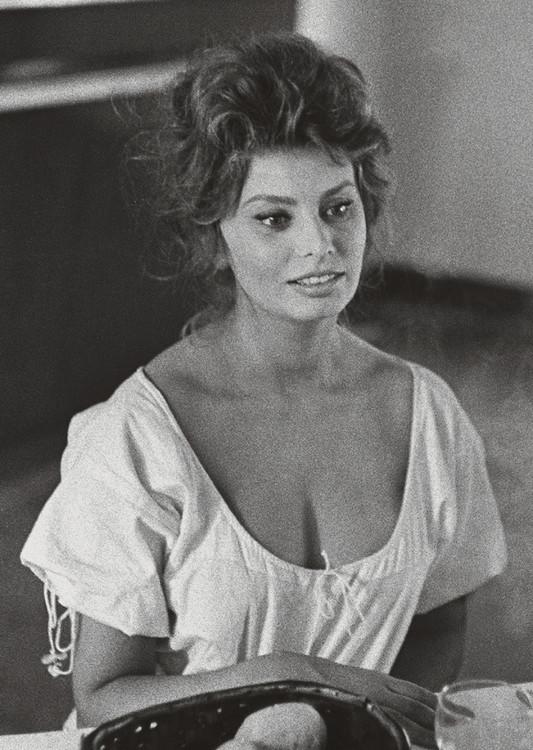 Reprodukcje Obraz Sophia Loren Posterspl