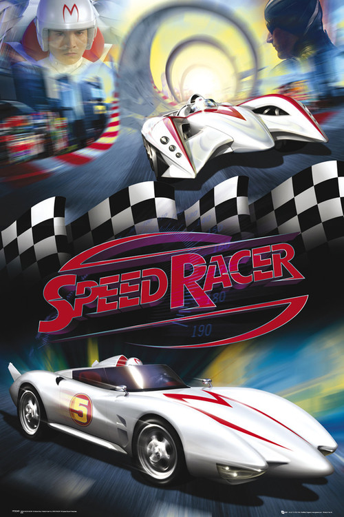 Plakat Speed racer - mach 5