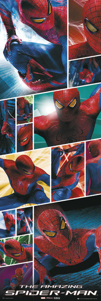 Plakát SPIDER-MAN AMAZING - shots