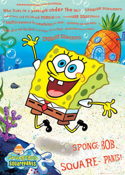 Plakát SPONGEBOB - píseň