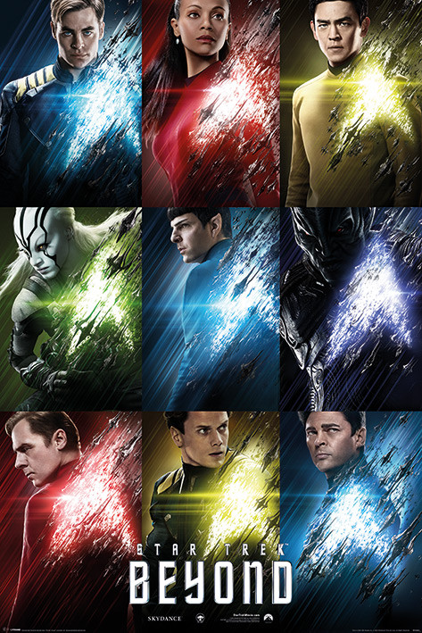 Plakát  Star Trek: Do neznáma - Characters