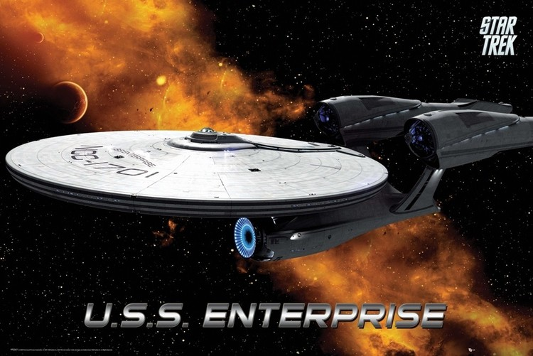 Plakát STAR TREK - enterprise
