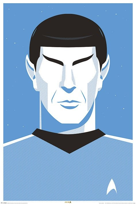 Plakát  Star Trek - Pop Spock  50th Anniversary
