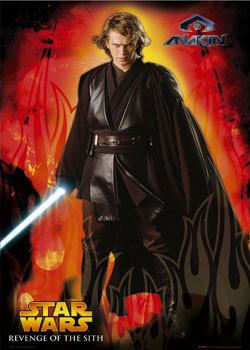 Plakát STAR WARS - Anakin