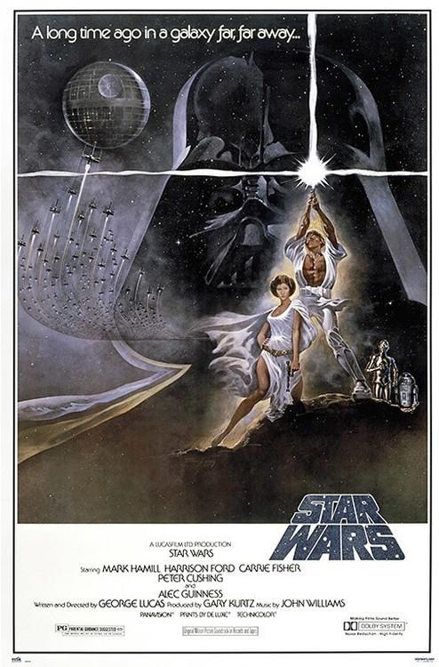 Plakat Star Wars - Classic