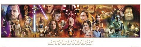 Plakat STAR WARS - complete