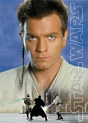 Plakát Star Wars: Episode I - Obi Wan Kenobi