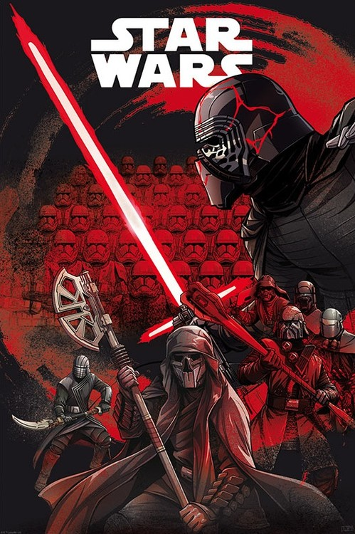 Plakat Star Wars - First Order
