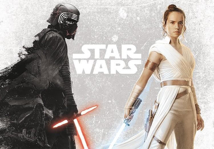 Plakat Star Wars - Kylo & Rey