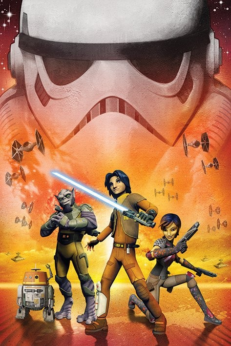Plakat  Star Wars Rebels - Empire