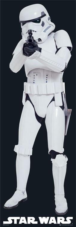 Plakát STAR WARS - stormstrooper gun