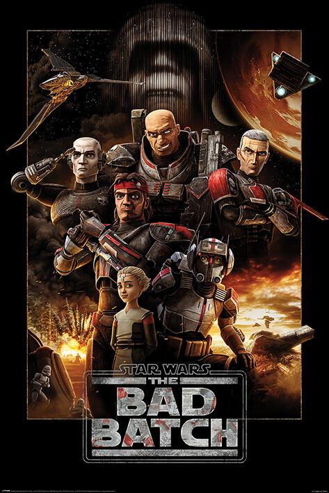 Plakat Star Wars: The Bad Batch - Montage