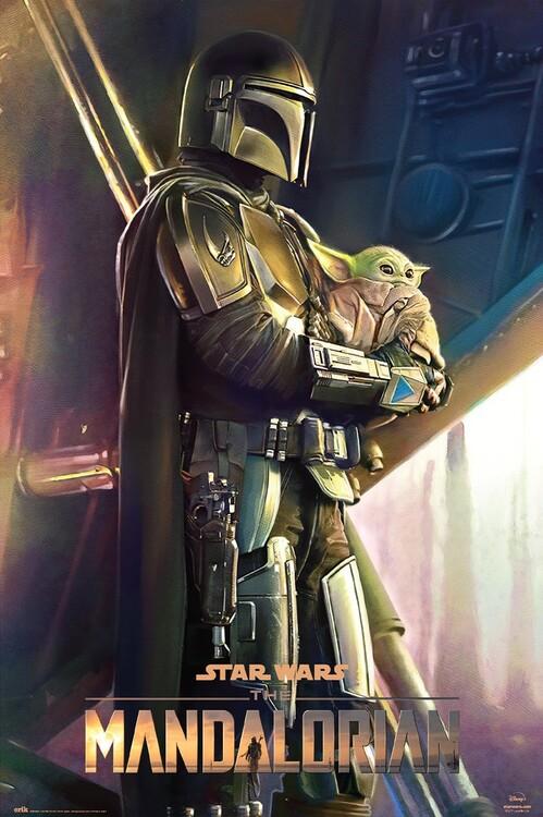 Plakát Star Wars: The Mandalorian - Clan Of Two