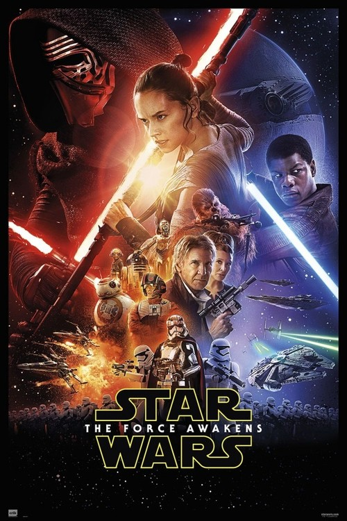 Plakat Obraz Star Wars Vii One Sheet Kup Na Posterspl