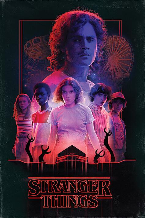 Plakát Stranger Things - Horror