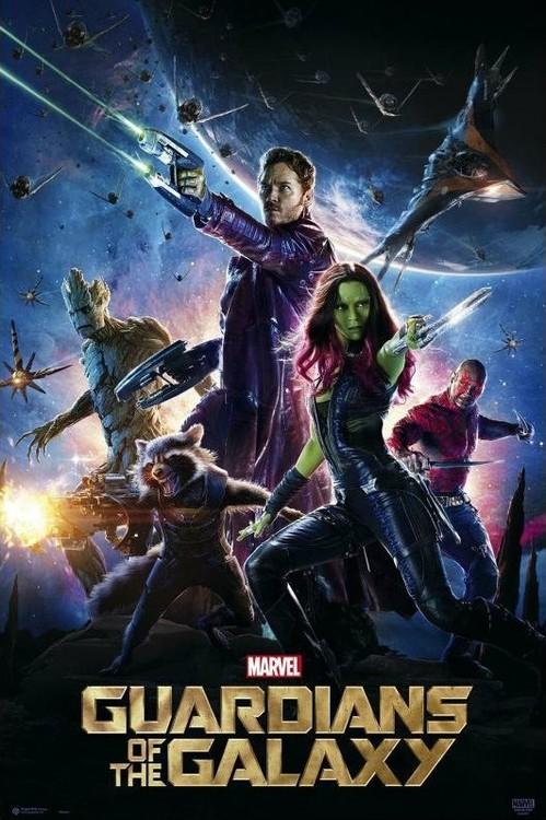 Plakát Strážci Galaxie - One Sheet