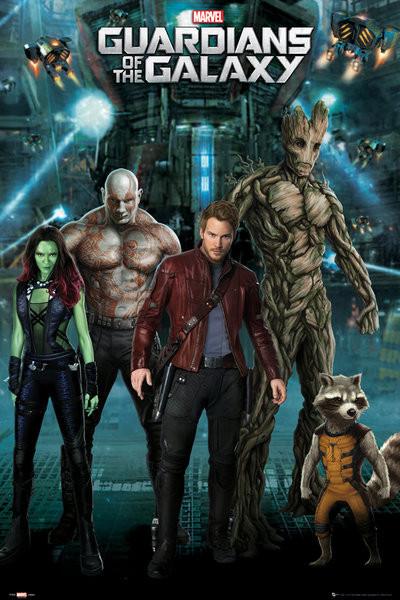 Plakat Strażnicy Galaktyki - Group