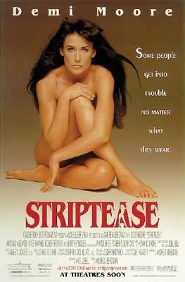 Plakát STRIPTEASE - Demi Moore