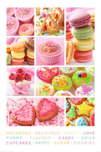 Plakat Sweets