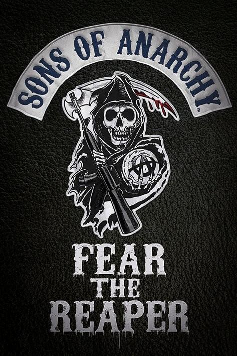 Plakat Synowie Anarchii - Fear the reaper