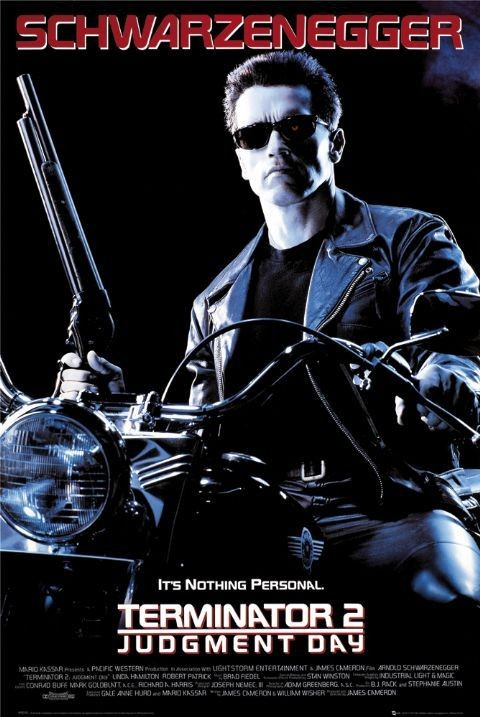 Plakat TERMINATOR 2 - one sheet