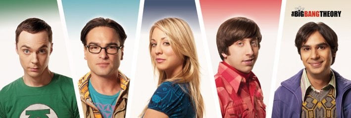 Plakat The Big Bang Theory (Teoria wielkiego podrywu) - Cast