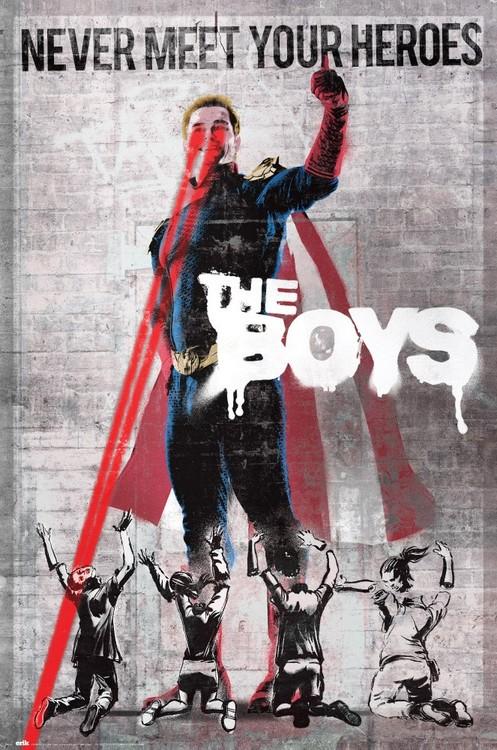 Plakat The Boys - Never Meet Your Heroes