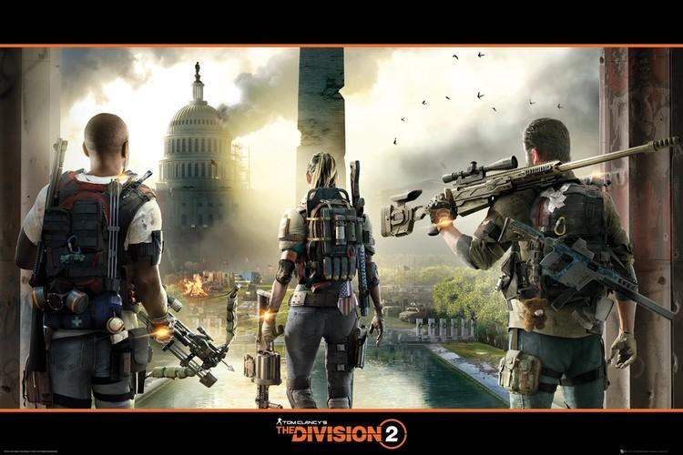 Plakát The Division 2 - Landscape