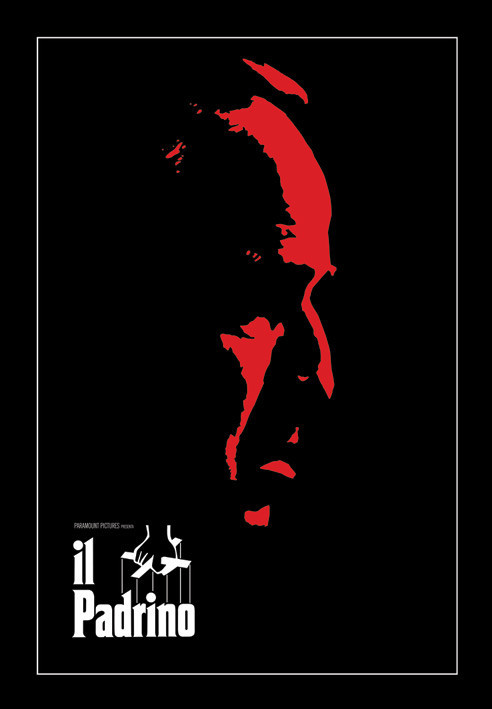 Plakat THE GODFATHER - il padrino