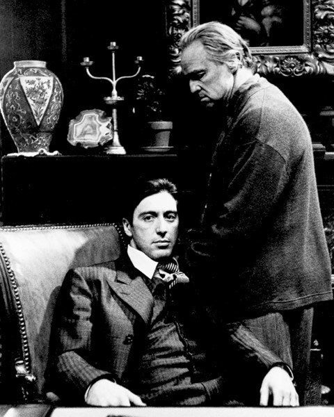 Plakát THE GODFATHER - KMOTR - Marlon Brando & Al Pacino