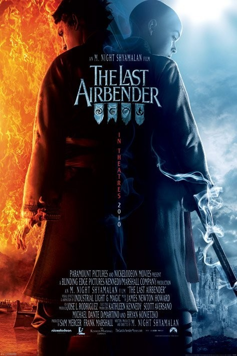 Plakát THE LAST AIRBENDER - one sheet