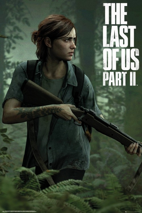 Plakát The Last of Us 2 - Ellie