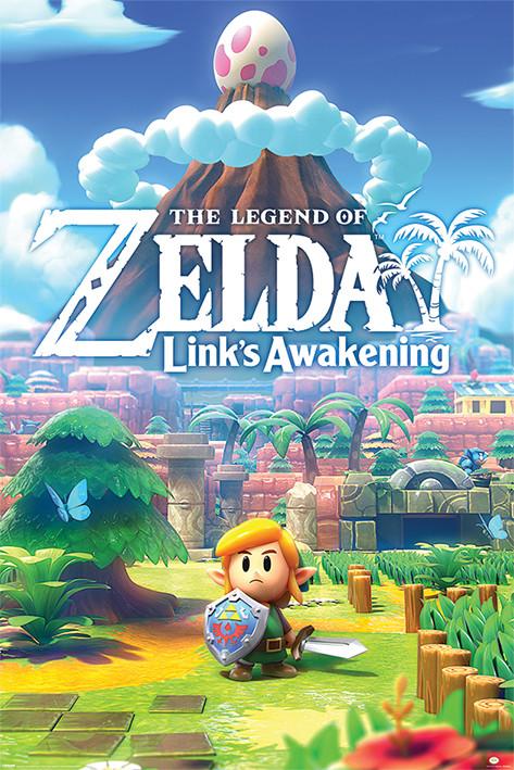Plakat The Legend Of Zelda - Links Awakening