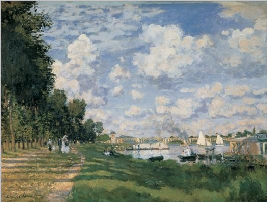 Reprodukcja The Seine Basin at Argenteuil