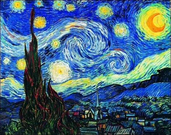 Reprodukcja The Starry Night, June 1889