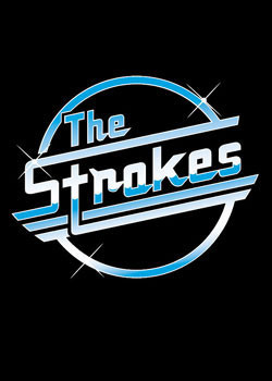 Plakat the Strokes - Logo