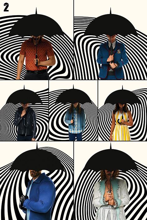 Plakát The Umbrella Academy - Family